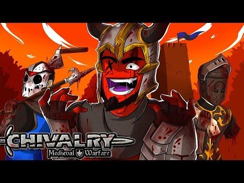 Chivalry: Medieval Warfare   TAG TEAMS BACK AGAIN! (2v2 w/ H2O Delirious, Bryce, & Ohmwrecker)