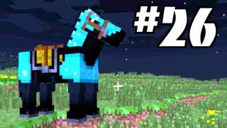 minecraft horses how to find tame and ride horses in minecraft let s play 26