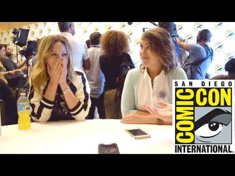 SDCC 2016 | Judy Greer / Amber Nash (Archer)
