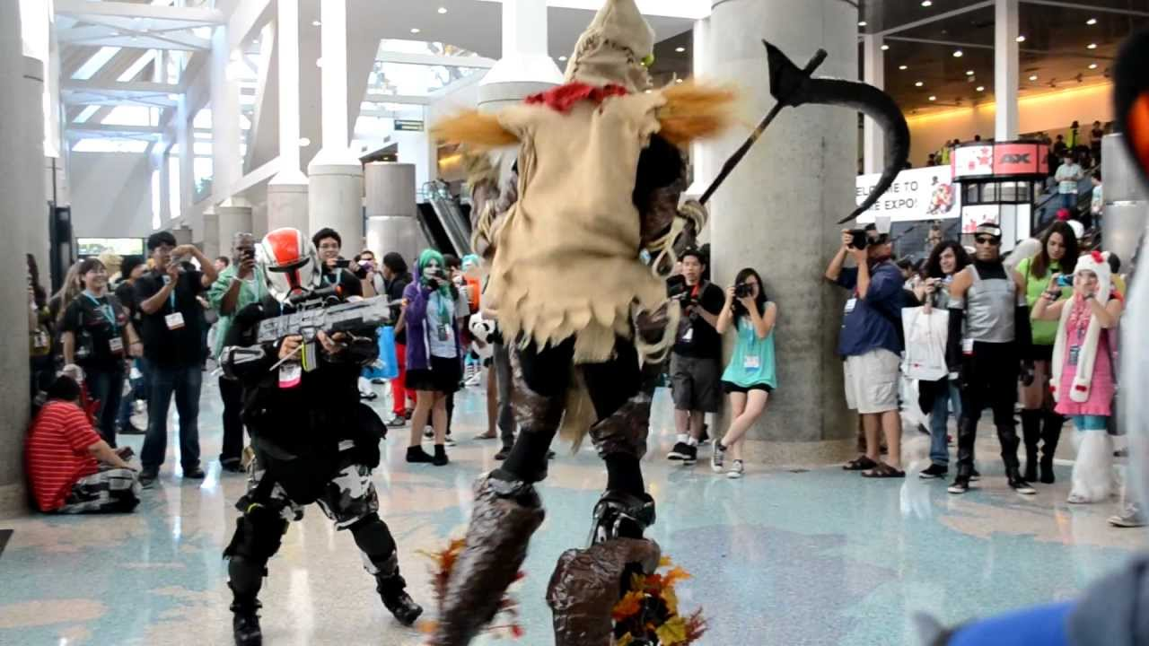 fiddlesticks cosplay    ax  anime expo 2012  hq