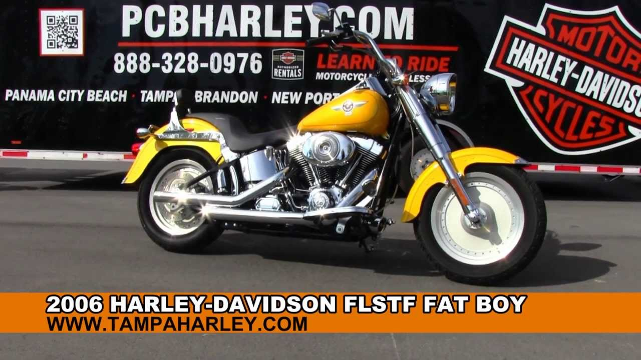 Used 2006 Harley Davidson Fatboy FLSTF For Sale Specs Price in Ohio Pa