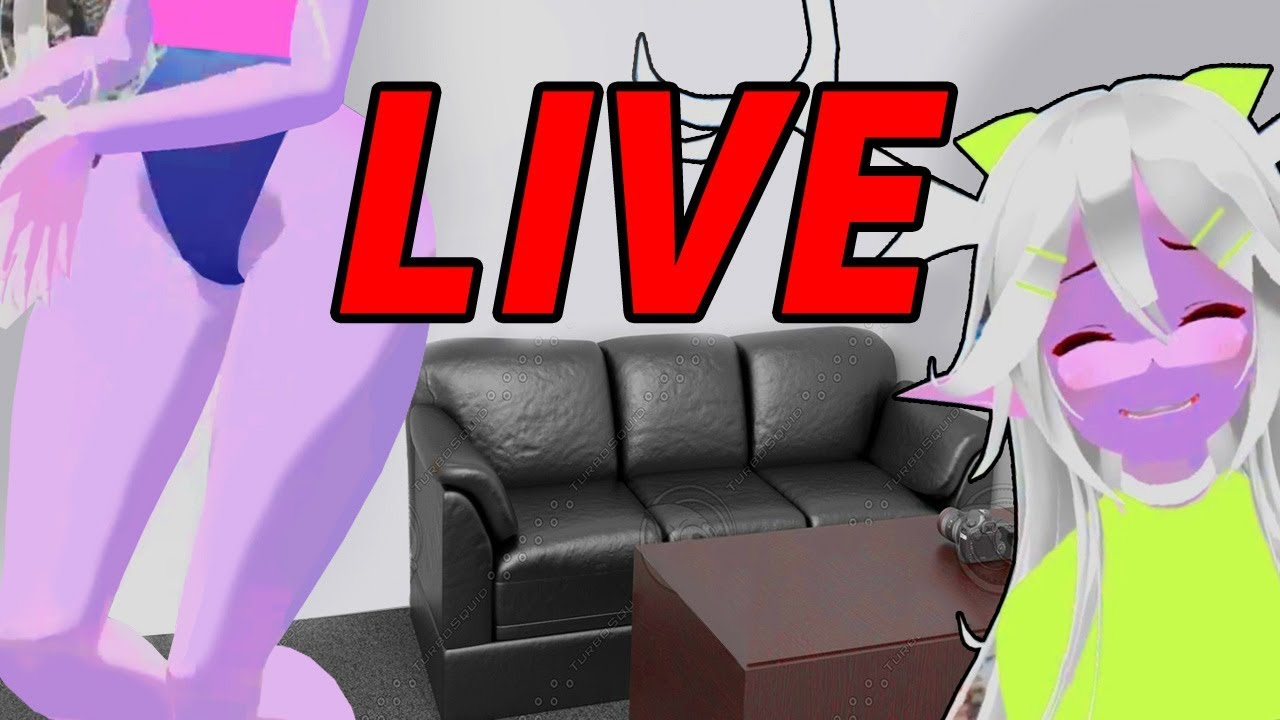 Live In SNOW STUDIOS VRChat - YouTube
