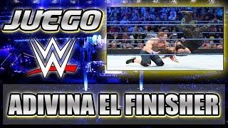 JUEGO WWE - ADIVINA EL FINISHER | Mundo WWE