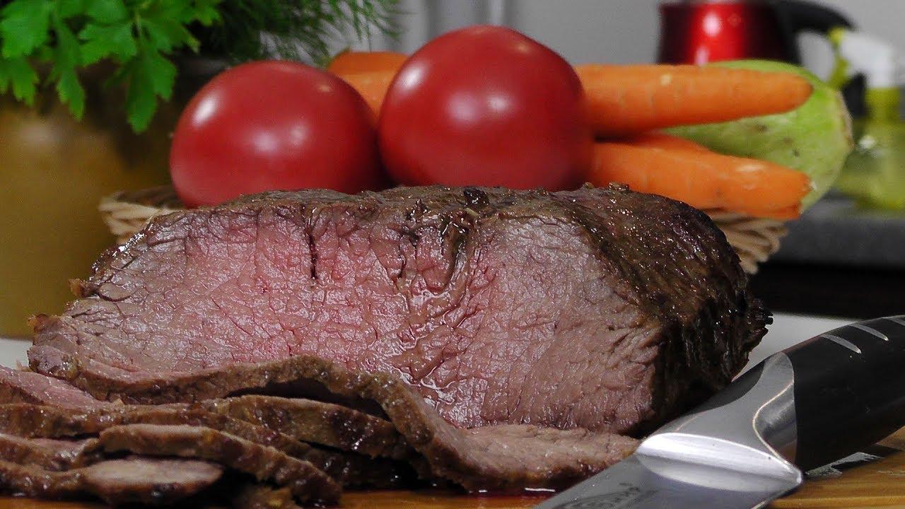 Говядина в духовке видео рецепт|как быстро и вкусно приготовить говядину в рукаве