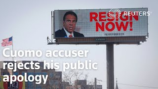Cuomo accuser <b>Charlotte Bennett</b> rejects his public apology ...