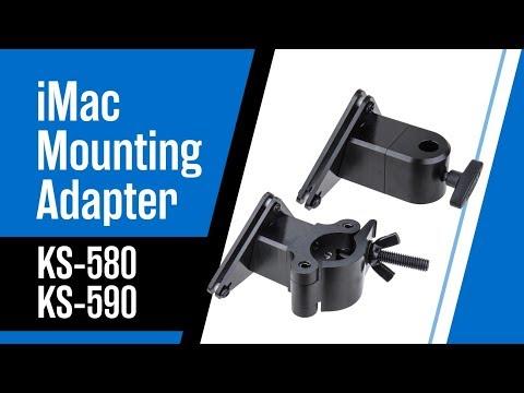 KUPO iMac Stand Mount & Truss Mount Adapters (KS-580 / KS-590)