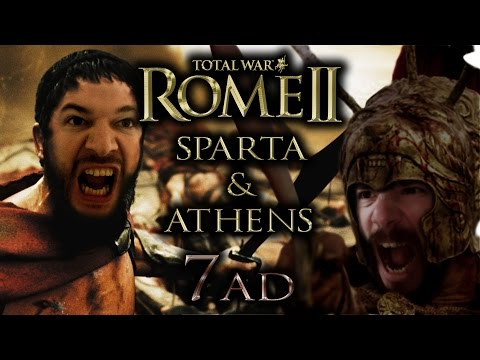 ROME Total War II - Athens & Sparta | #7