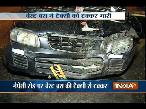 Two major accident in Mumbai, 2 injured