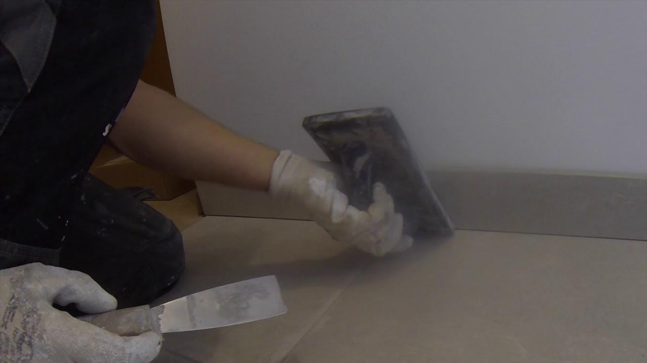 Comment Jointer Des Plinthes Carrelage Facilement Lumy 76 Youtube