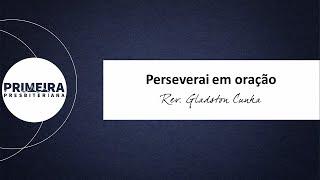 Perseverai na oração