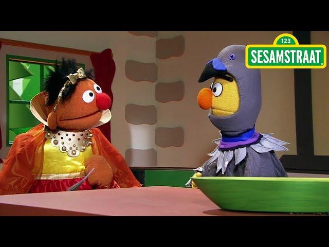 Assepoester - Bert & Ernie - Sesamstraat