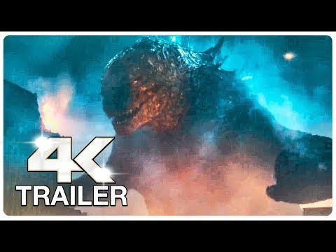 GODZILLA KING OF THE MONSTERS : 7 Minute Trailers (4K ULTRA HD) NEW 2019 | Godzilla 2
