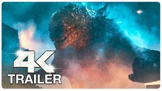 GODZILLA KING OF THE MONSTERS : 7 Minute Trailers (4K ULTRA HD) NEW 2019 | Godzilla 2