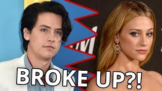 lili reinhart says she and cole sprouse broke up?