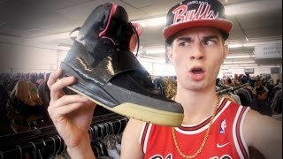 Trip to the Thrift #46 Nike Air Yeezy at the Thrift?!