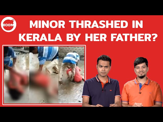 Minor Thrashed In Kerala By Her Father?