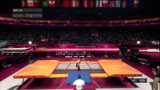 London 2012  - PS3 - PlayThrough Hard - Day 11 -  Gymnastics Finals