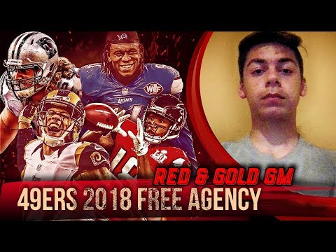 Live! 49ers Free Agency 2018 - Ronbo Sports Red & Gold GM EP 3