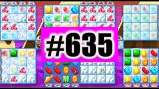 Candy Crush Soda Saga Level 635 NEW! Complete!