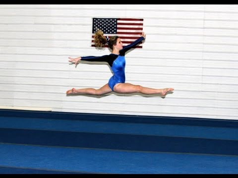 How to do a Split Leap (Gymnastics and Dance tutorial)
