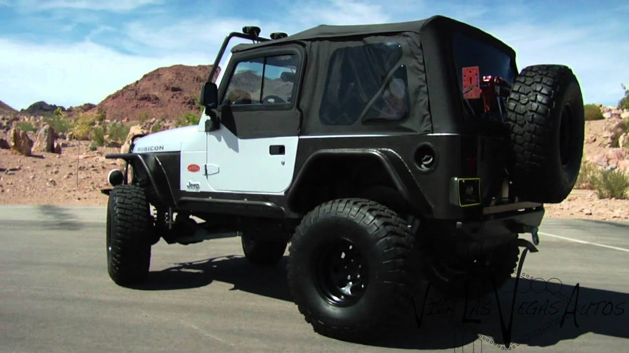 2003 Jeep Rubicon Tomb Raider Edition Test Drive Viva Las