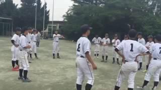 木崎中野球部最後の円陣メドレー!!