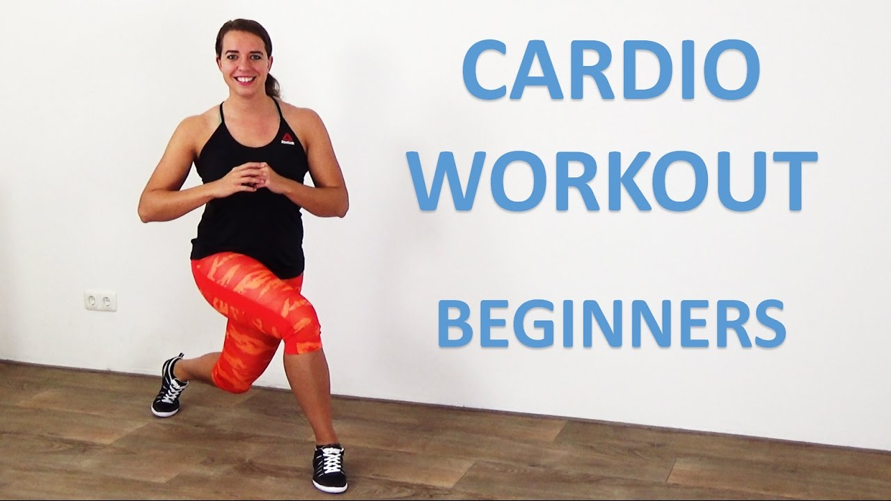 Easy Cardio Workout at Home - 20 Minute Cardio Beginners Exercises with Low  Impact - No Equipment