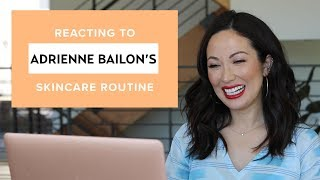Adrienne Bailon Houghton's Nighttime Skincare Routine: My Reaction & Thoughts | #SKINCARE