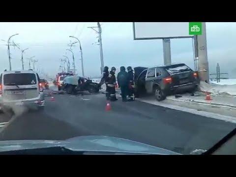 ДТП Нива и Porsche трупы на плотине ГЭС в Иркутске 10.12.2017 реальная съемка
