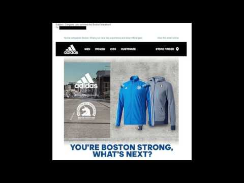 Adidas sends marketing e-mail congratulating customers for surviving Boston Marathon - News Today