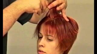 Классическая короткая женская стрижка.Women's short haircut(О прическах и стрижках - http://hairnews.ru/ О красоте прическах и уходе - http://blog-stilista.com/ О похудении и здоровом образе..., 2013-01-21T18:14:30.000Z)
