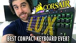 Corsair Gaming K65 LUX RGB Keyboard Review