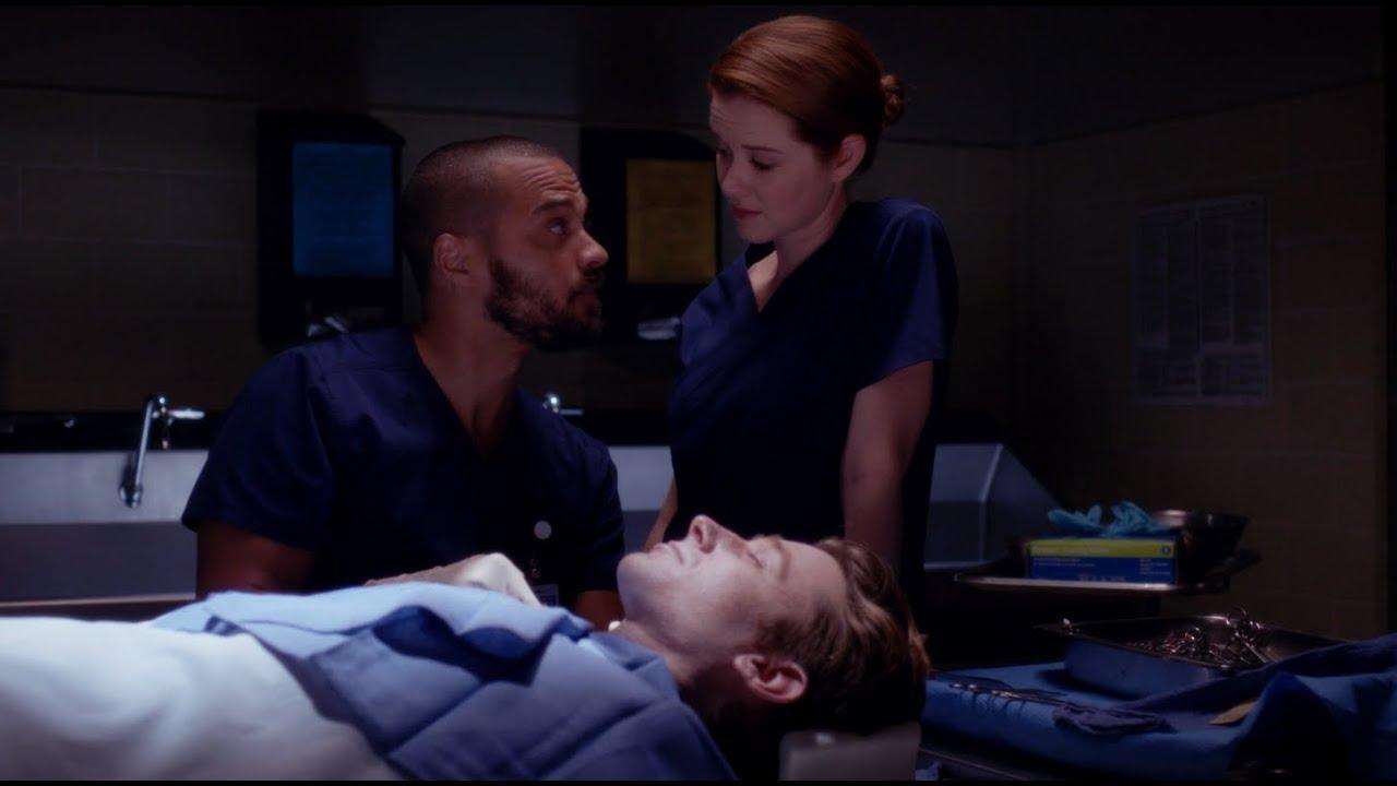 April And Jackson Reminisce About Sloan Greys Anatomy Season 11