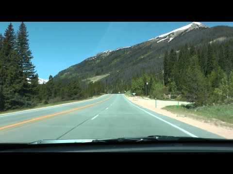 U.S. 40 westbound between I-70 and Winter Park, Colorado