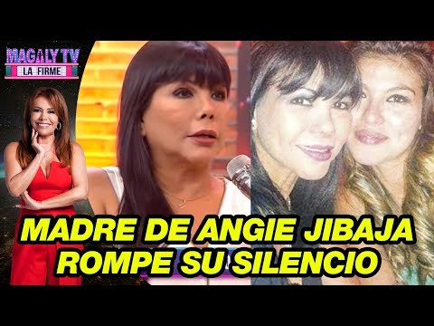 Madre de Angie Jibaja rompe su silencio y habla sobre el dramático momento que vive la modelo
