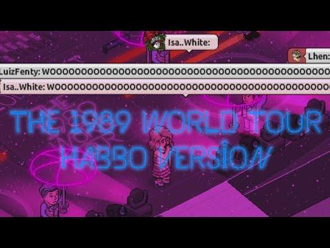 Taylor Swift Glasstars - The 1989 World Tour (HABBO VERSION)