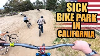 SICK BIKE PARK IN CALIFORNIA - MTB FREERIDE SESSION