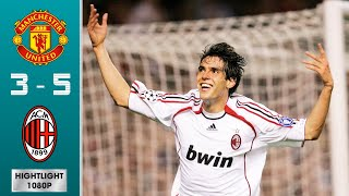 Manchester United vs AC Milan 3-5 (agg) Highlights & Goals - Semi-finals | UCL 2006/2007