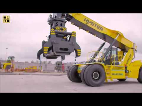 ReachStacker Toolchanger Slab Handler – Hyster® Special Products Engineering Department SPED