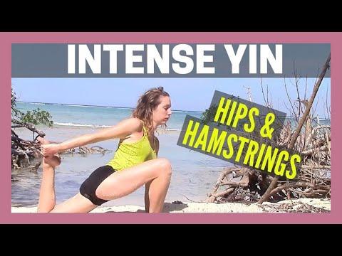 Intense Yin Yoga - Hips & Hamstrings Deep Stretch {30 min}