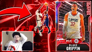OMG GALAXY OPAL BLAKE GRIFFIN DUNKS ON TACKO FALL! MOST OVERPOWERED CARD IN NBA 2K20 MYTEAM