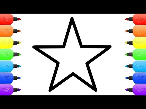 Baby Einstein STAR Drawing And Coloring Pages For Kids