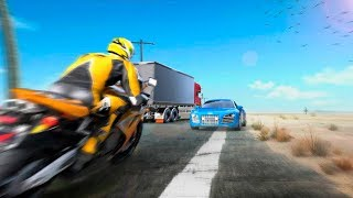 Highway Bike Racing 2018 Bike Stunt Race   Gameplay Android Game