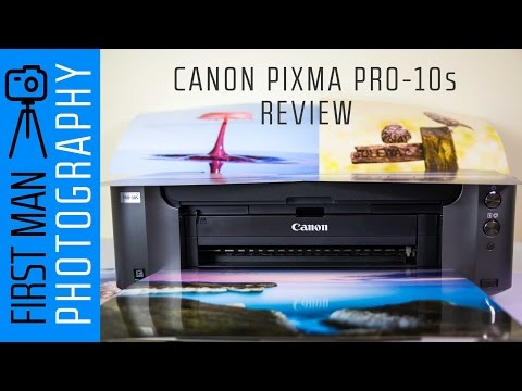 Canon PIXMA Pro-10s Photo Printer Review