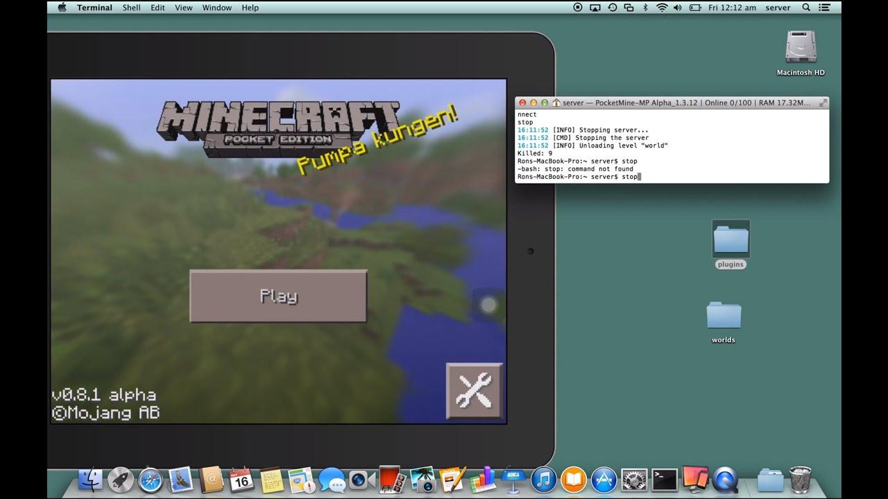 Minecraft на mac скачать