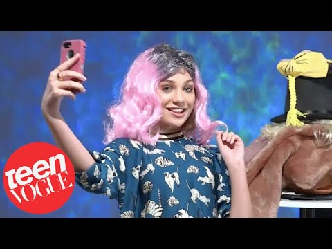 Maddie Ziegler Impersonates Kylie Jenner, Pennywise and More | Teen Vogue