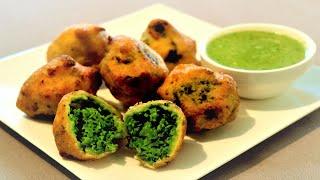 Matar Stuffed Vada | Green Peas Stuffed Vada | Neetu Suresh