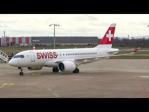 [Tripreport] Swiss CS-100 and A320 | Economy Class | Hanover