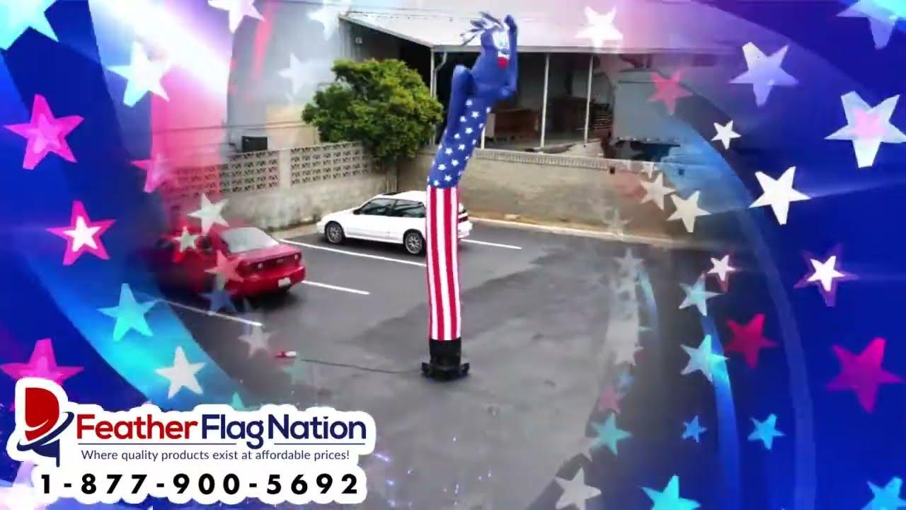 3e22140120d 20ft Patriotic Air Puppet Dancer Guy - Inflatable Tube Man ...
