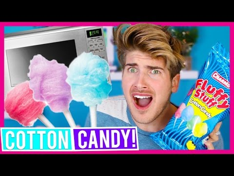 DON'T MICROWAVE COTTON CANDY!
